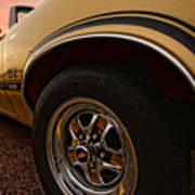 1970 Oldsmobile Cutlass 4-4-2 W-30  Print by Gordon Dean II