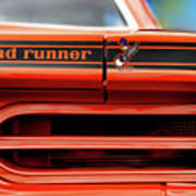 1970 Plymouth Road Runner - Vitamin C Orange Art Print