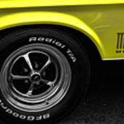 1971 Ford Mustang Mach 1 Art Print