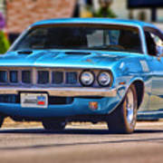 1971 Plymouth 'cuda 383 Art Print