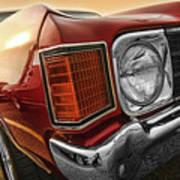1972 Chevrolet Chevelle Ss  Art Print