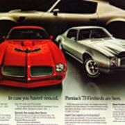 1973 Pontiac Firebird Trans Am  Art Print