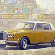 1973 Rolls-royce Silver Shadow Art Print