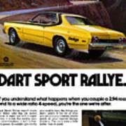1974 Dodge Dart Sport Rallye Art Print