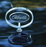 1975 Oldsmobile Hood Ornament Art Print