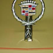 1976 Cadillac Eldorado Convertible Hood Ornament Art Print