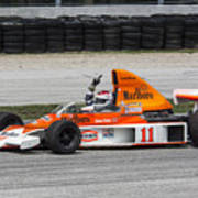 1976 Mclaren M23 F1 At Road America Art Print