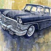 1978 Gaz Chaika M13 Art Print