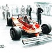 1980  Ferrari 312t5 Art Print