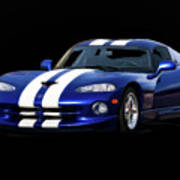 1995 Dodge Viper Coupe I Art Print