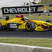 1997 Jordan 197 F1 At Road America Art Print