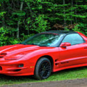 1998 Pontiac Firebird Trans Am Art Print