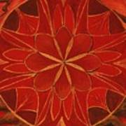 1st Mandala - Root Chakra Art Print