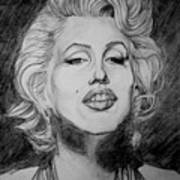 Marylin Monroe Art Print