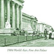 1904 World's Fair, Fine Arts Palace Art Print