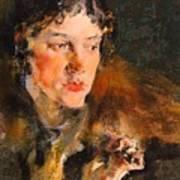 1920- Nikolay Feshin Art Print