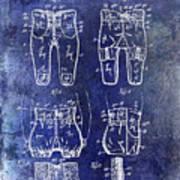 1927 Football Pants Patent Art Print