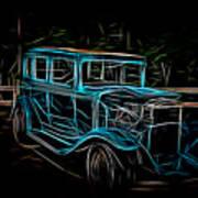 1931 Chevy Hot Rod  Art Print