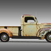 1946 Ford Pickup Truck Art Print