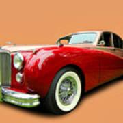 1953 Jaguar M K V II Art Print