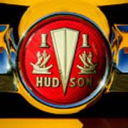 1954 Hudson Grille Emblem Art Print