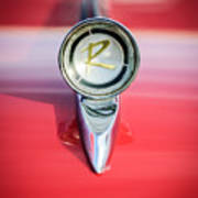 1961 Rambler Hood Ornament Art Print
