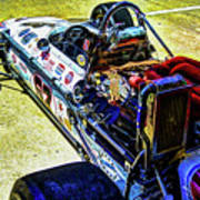 1966 Gearhardt Rear Engine V8 Art Print