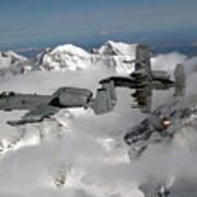 A-10 Thunderbolt IIs Fly Art Print