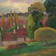A Farm In Brittany Art Print