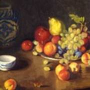 Abundance Of Fruit Art Print