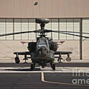 Ah-64d Apache Longbow At Pinal Airpark Art Print