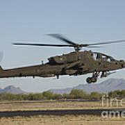 Ah-64d Apache Longbow Lifts Art Print