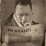 Albert Camus 1 Art Print