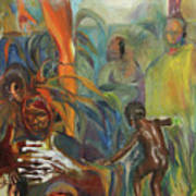 Ancestor Dance Art Print