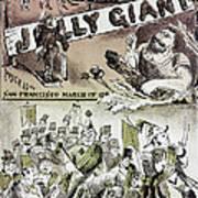 Anti-immigrant Cartoon Art Print