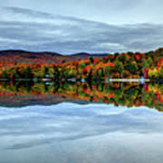 Autumn In The White Mountains Of New Hampshire Art Print