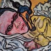 Baby Drew Art Print