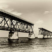 Bahia Honda Bridge Art Print