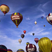 Balloon Fiesta Art Print