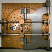 Bank Vault Door Exterior Art Print