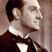 Basil Rathbone, Actor Art Print