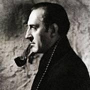 Basil Rathbone As Sherlock Holmes Art Print