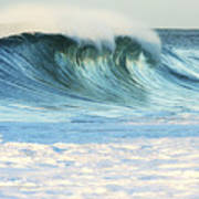 Beautiful Wave Breaking Art Print