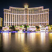 Bellagio Hotel On Nov, 2017 In Las Vegas, Nevada,usa. Bellagio I Art Print