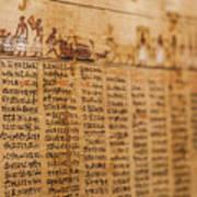 Book Of The Dead Art Print