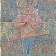 Boy In Fancy Dress Art Print