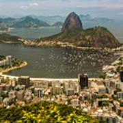 Brasil Rio De Janeiro Art Print