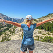Break After Yosemite Hiking Art Print