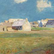 Breton Village Art Print