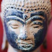 Buddha Sculpture Art Print